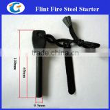9.5mm solid fire steel ferro rod spark strikers