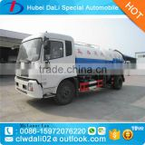 2016 new arrival 6000L Dongfeng 4*2 sewage suction tanker truck for sale