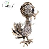 2015 new products New model with high quality Duck rhinestone brooch for vintage jewelry