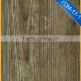 YDM-17-1 wooden color laminated wood pvc flooring for factory