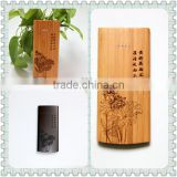Latest power bank 8000mah portable battery charger bamboo wood polymer battery 5V 2.1A for mobile phone/restaurants