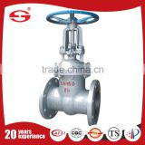 DN80 water stainless steel butt weld gate valve price in the low pressure oil for dispenser