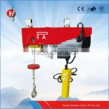 High quality PA wire rope mini electric hoist 500-1000kg CE certified mini electric hoist