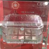 Acrylic plastic jewelry boxes, clear plastic jewelry boxes, clear glass jewelry box