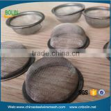 Stainless steel small metal stamping filter mesh Filter cap