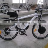 Big range with TWO li-ion batteries in one mountain electric bikes electric bicycle (Model MTB300D)