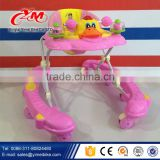 2015 Baby Product Baby Activity Walkers with suitable seat/pink baby walker/child walker