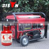 BISON(CHINA) Small Size Household Gas Save Reliable Methane Electricity Small Gas Generator