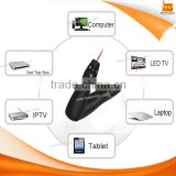 RF 2.4GHz USB Wireless Remote control Air Mouse Laser Pointer Presenter for HTPC Android TV Box