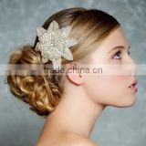Belts Head and Hand Accessory Crystal Flower Shape Rhinestone Bridal Sash R8025