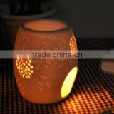 souvenir Aromatherapy Essential Oil Diffuser / Oil Warmer / Ceramic white Votive Tealight Burner                                                                                         Most Popular