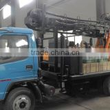 Hot selling trailer mounted drilling rig/truck-mounted water well drilling machine with lowest price