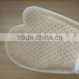 High Quality Promotional gifts Sisal exfoliating bath glove scrub glove