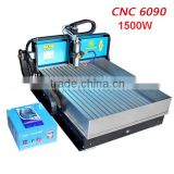 MINGDA Fast speed CNC 6090 4th axis 3d wood carving machine for wood/metal/stone/jade