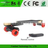 Four Wheel Electric Skateboard Brushless Motor 1800W Power Dual Drive