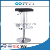 TB 2015 promotional square swivel lifting bar stools in black