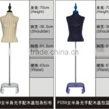 Wholesale custom fashion shop adjustable dress form mannequin