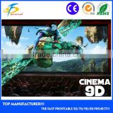 3dof/6dof electric hydraulic 4d 5d 7 9d 10d 11d 12d cinema motion platform with 9/12seats