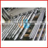single screw cylinder for plastic extruder/extrusion screw and barrel/screw barrel for extrusion machine