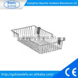 High quality cheap custom wholesale wire baskets kitchen cabinet wire basket