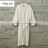 wholesale terry hotel heated Microfiber bathrobe and towels for spa
