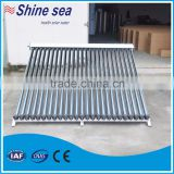 solar collector heat pipe for swimming pool hotel domestic home building use