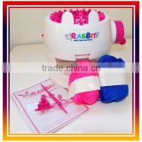 2016 Fashion handmade Toys Personality Gift easy kint kit for kids DIY Toys Kintting Machine