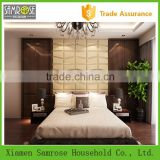 2015 china manufacturer European construction material stylish modern wholesale glass wall decorative panels