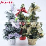 2014 wholesale mini fiber optic christmas tree ornament,christmas tree stand(AM-CD25,)