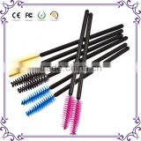 Plastic handle eyelash extension brush professional 50pcs retractable eyelash brush