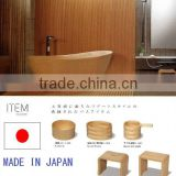 Premium bath stool made in japan for wooden furniture use , various types of furnitures also available