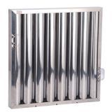 OEM service Rectangle Galvanized steel stainless steel grease baffle filter