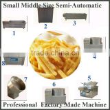 Complete Small Big Scale small scale potato chips machine Equipment Making Macine Fry Chips Price