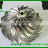 Marine stainless steel turbine impeller, turbo pump impeller wheel