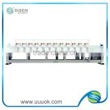 9 needle 12 head embroidery machine price