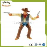 custom made Figurine plastique Collection vintage Cavalier Cowboy figurine