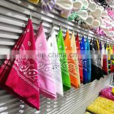 Whole Sale Sublimation Square Headband Bandana With Custom Printing For Promotion Polyester Material