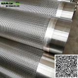 Deep well drilling stainless steel Johnson screen pipe/Wire wrapped screens