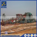 100m3/hr Multifunctional Dredger High efficient Bucket Chain Gold Dredger for sale
