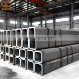 Thick wall schedule 40 low carbon fiber square steel pipe