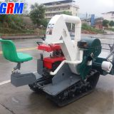 Best working in Nigeria farm machinery mini rice reaper / rice combine harvester factory price
