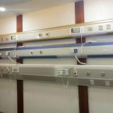 Hopsital Patient Room Using Medical Gas Pipeline System Terminal Equipment of Wall Mount Bed Head Trunkings Panel