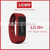 0.91 inch bigger display screen Remote camera Sleeping monitor date&time colorie bluetooth LC-I5 plus Smart Bracelet