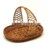 New Year's gift wicker basket wholesale.