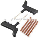 Motorcycle/Car Tubeless Tyre Puncture Repair Kit Tool Tire Plug Auto 5 Strip