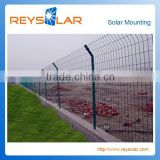Solar Panel Mounting Bracket Adjustable PVC coating Wire Mesh Fence