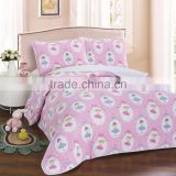 Nice dancing girl children bedspread , 100% cotton