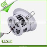 2013 Shenzhen 3*1W 5*1W 7*1W 9*1W 12*1W recessed LED acrylic ceiling light with three years warrenty