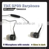 TDK SP80 Smartphone Headphones, light earphone, headphones el glow, import mobile phone accessories