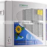 HEPA filter ozone anion air purifier ozone generator ionizer hepa air purifier 220v for odor removal EG-AP09